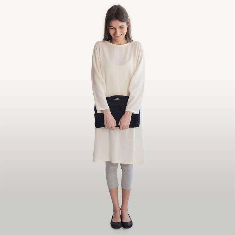 Aurora Sofia Kapalo-mekko (valkoinen)