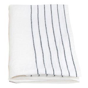 Lapuan kankurit KASTE pyyhe 48x70cm 18 harmaa-valkoinen