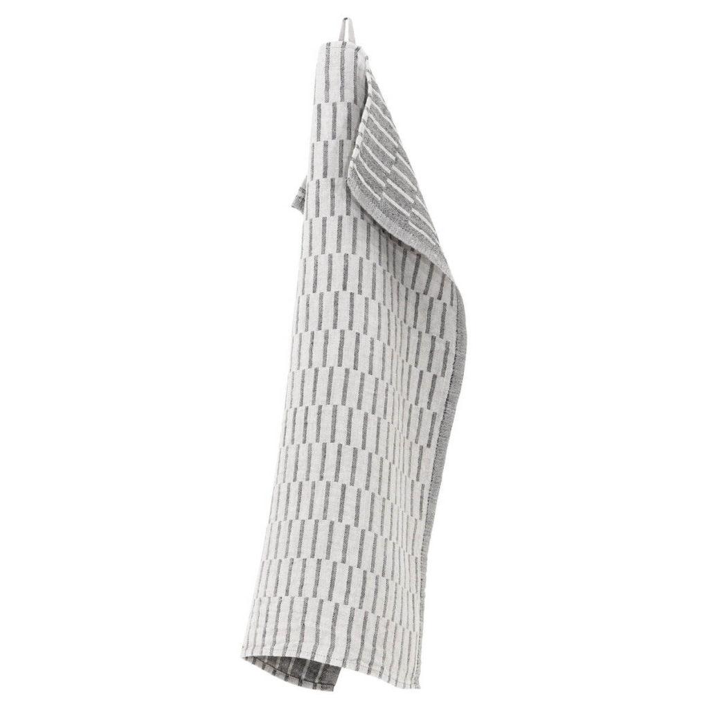 Lapuan Kankurit Siru pyyhe 48x70cm (pellava-musta)