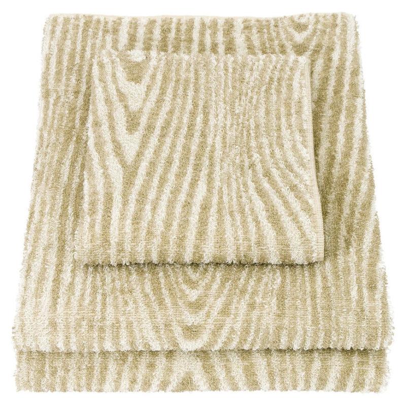 Lapuan kankurit Viilu käsipyyhe 35x45cm 21 valkoinen-pellava pellavafrotee