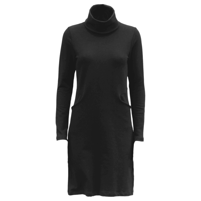 PaaPii Design Routa mekko musta