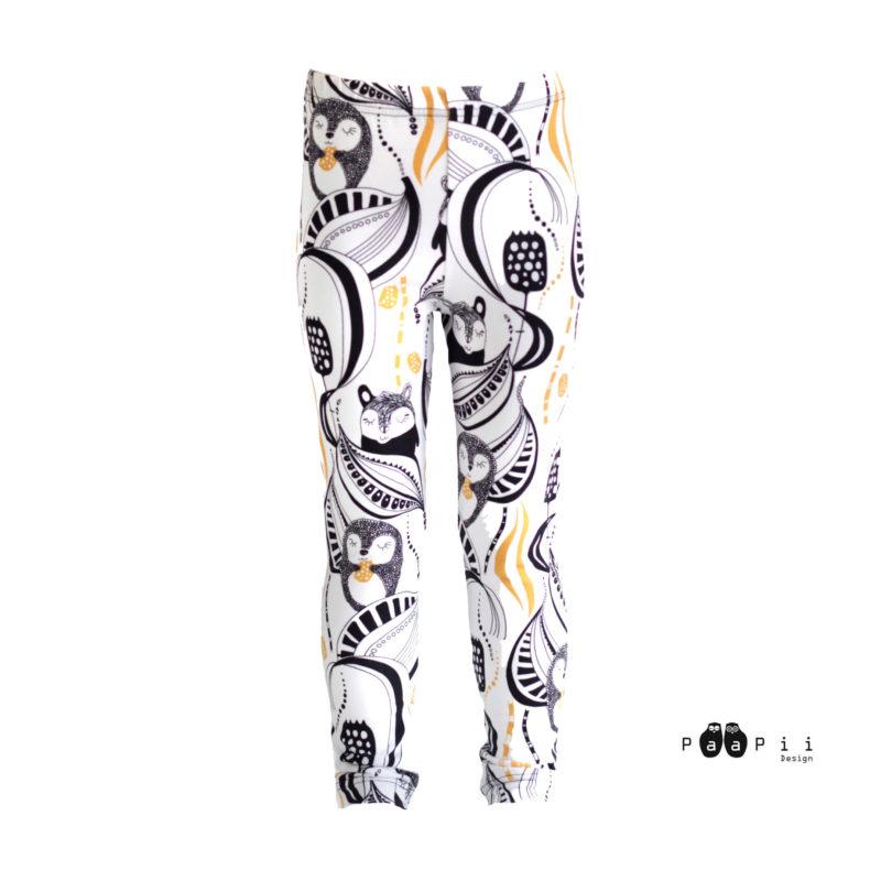 PaaPii Design Leggins Kuuru&Tuuri (okra)