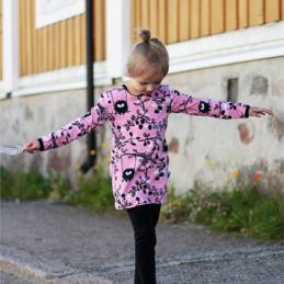 PaaPii Design Siiri keinuu Tunika (vaaleanpunainen)