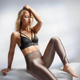 Biancaneve B Lean -legginsit (Sand Glossy) Kiira