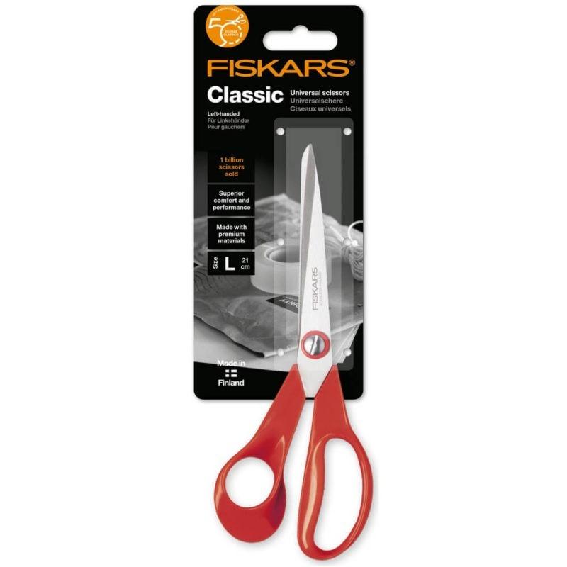 Fiskars Classic vasenkätiset yleissakset 21cm 2