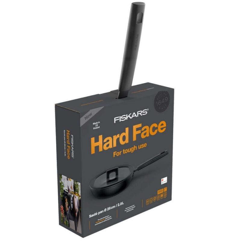 Fiskars Hard Face paistokasari 26cm kannella Uutuus 20173
