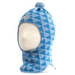 Husky Foggy lasten kypäräpipo tuulisuojalla (vaaleansininen)