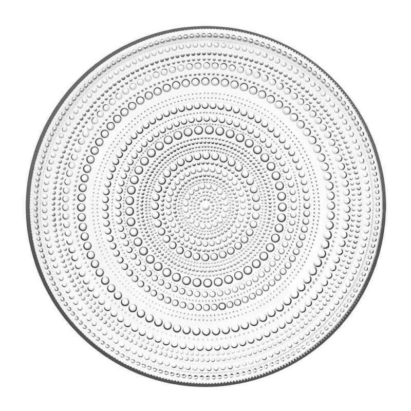 Iittala Kastehelmi lautanen 315mm kirkas (4 kpl)
