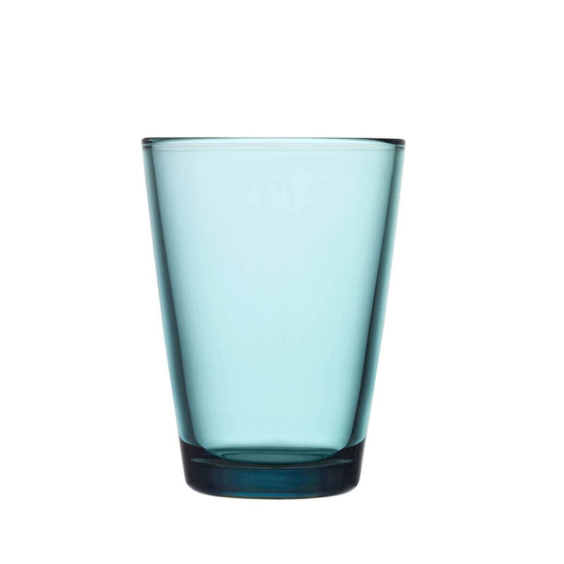 Iittala merensininen Kartio juomalasi 40cl 2kpl