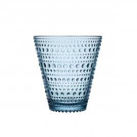 Iittala vaalean sininen Kastehelmi juomalasi 30cl 2kpl