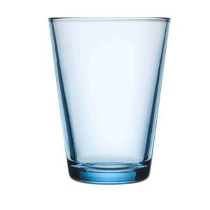 Iittala vaaleansininen Kartio juomalasi 40cl 2kpl