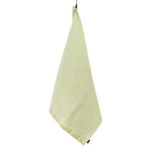 Jokipiin Pellava Naava-pyyhe (vaaleanvihreä) 75 x 150 cm