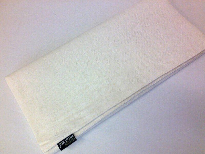 Jokipiin Pellava Pellavatyynyliina luonnonvalkoinen 65 x 55 cm 1