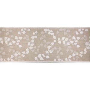 Jokipiin Pellava Tuuli-laudeliina (luonnon väri-opt.valkoinen) 45 x 160 cm