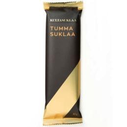 Kultasuklaa Natural suklaalevy tumma 80 g