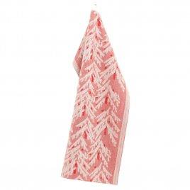 Lapuan Kankurit Kuusi pyyhe 46x70cm (pellava-punainen pellava-puuvilla)