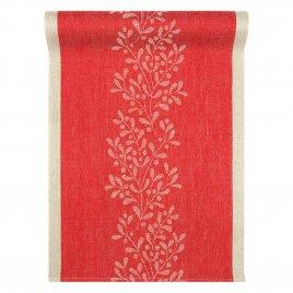 Lapuan Kankurit Misteli kaitaliina 35x120cm (punainen-pellava 100% pellava)