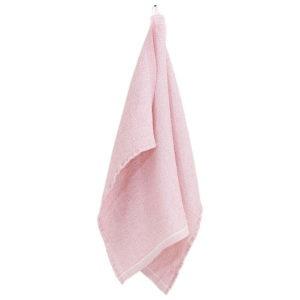 Lapuan Kankurit Terva kylpypyyhe 65x130cm valko-roosa