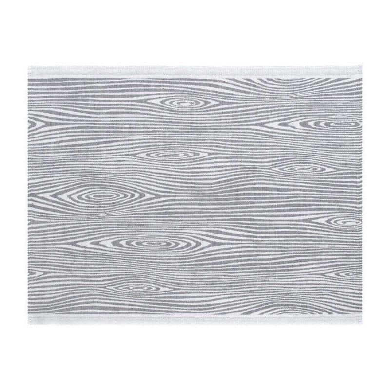 Lapuan Kankurit Viilu laudeliina 60x200cm (valko-harmaa)