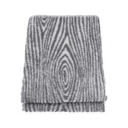 Lapuan Kankurit Viilu pyyhe 80x150cm (valko-harmaa)