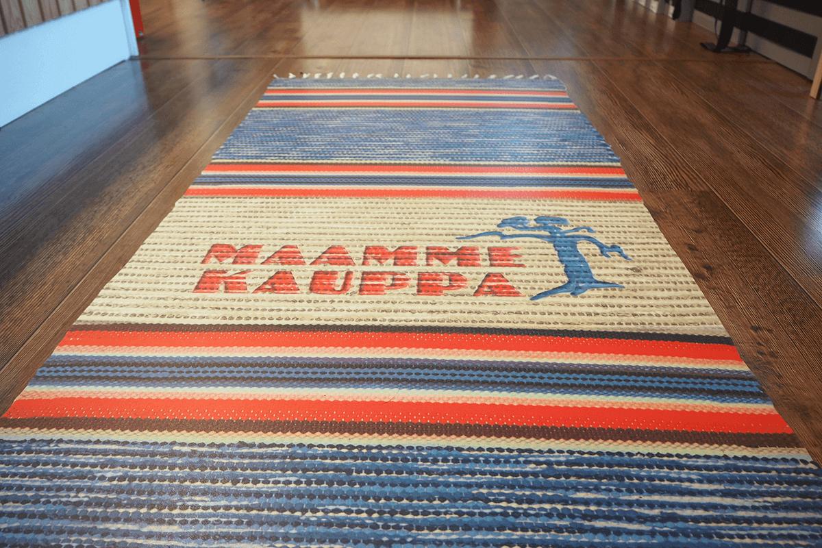 Maammekaupan myymälän matto