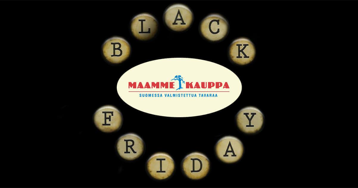 Maammekauppa Black Friday