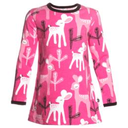 PaaPii Design Bambi lasten tunika pinkki