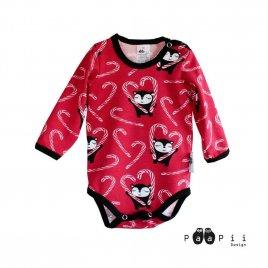 PaaPii Design Karkkikeppi body (punainen)