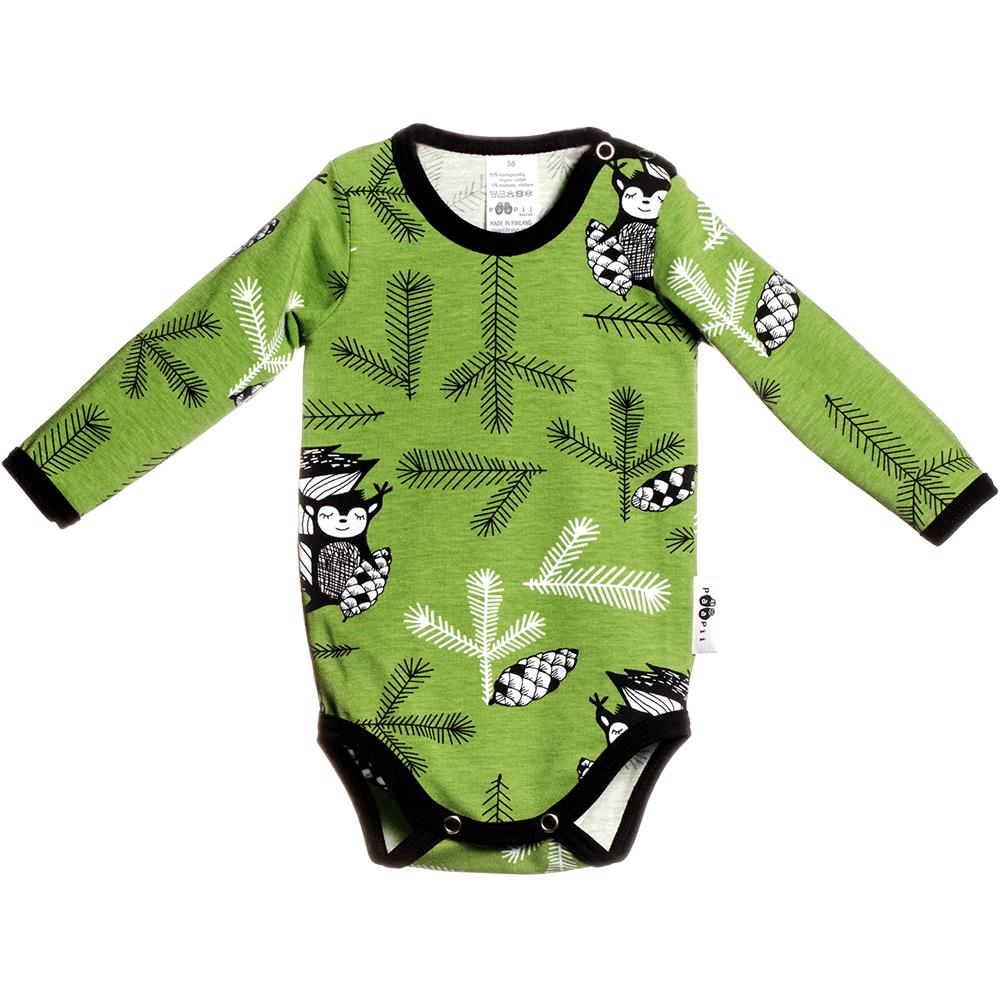 PaaPii Design Orava body metsänvihreä