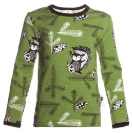 PaaPii Design Uljas paita Orava metsänvihreä