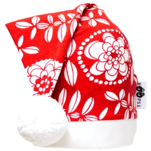 PaaPii Design tonttulakki Lumikukka punainen