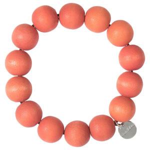 Aarikka Pohjola rannekoru aamuruskon oranssi