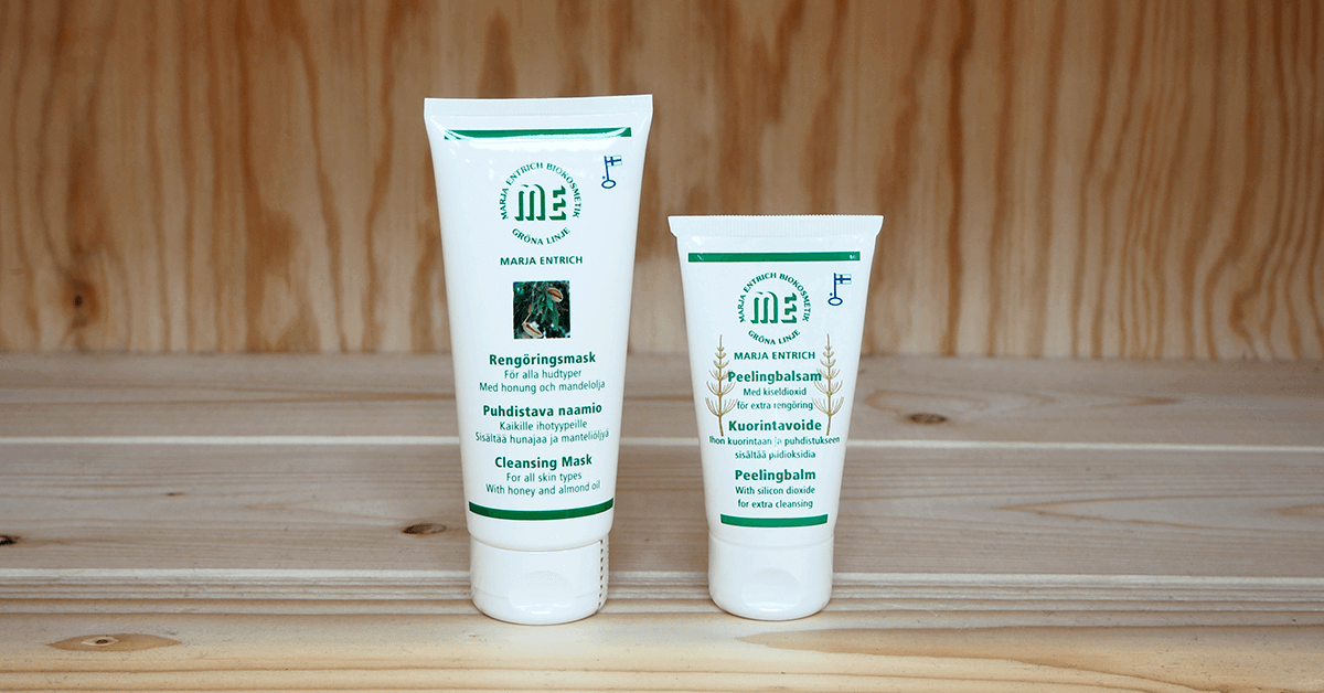 Marja Entrich tuotteet ihon tehohoitoon