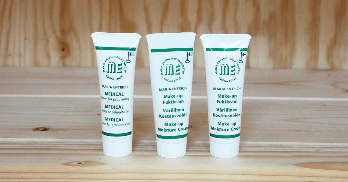 Marja Entrich tuotteet luonnollisen kaunis iho