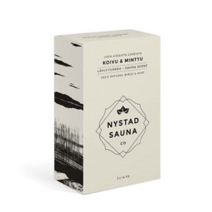 Nystad Sauna co saunatuoksu koivu & minttu