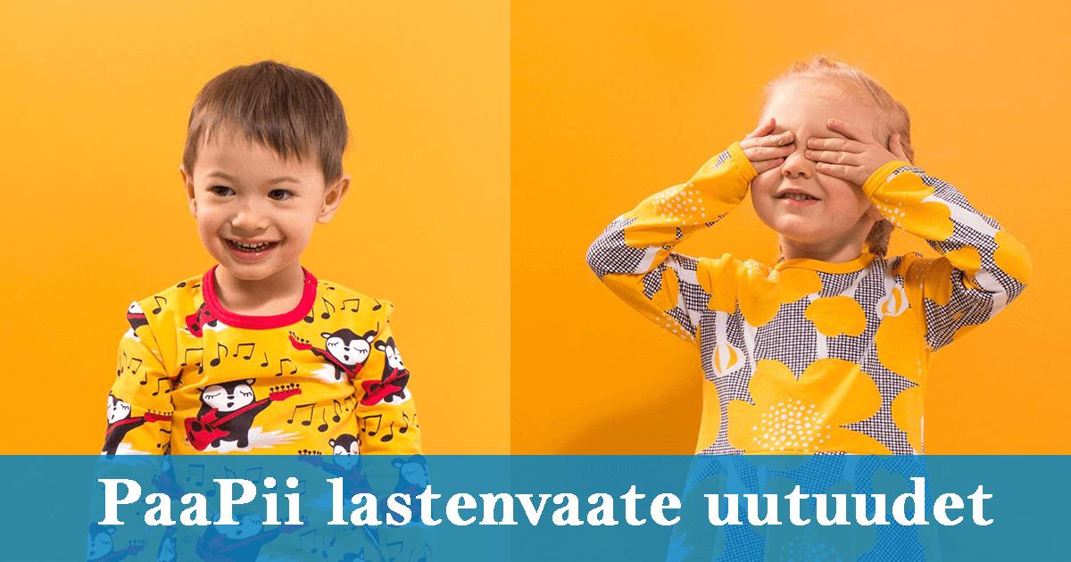 PaaPii Design lastenvaate uutuudet 2019