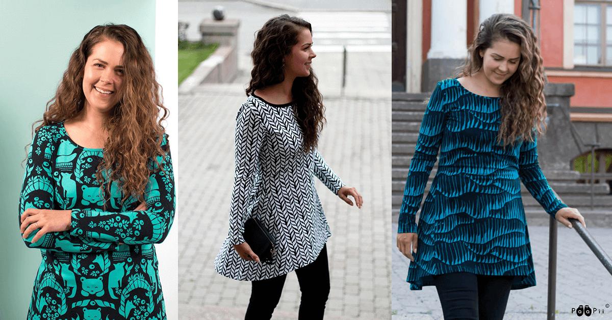 PaaPii Design naisten tunikat