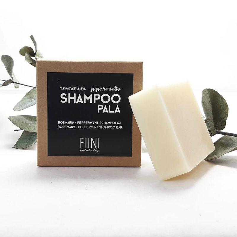 Fiini Naturally palashampoo rosmariini-piparminttu