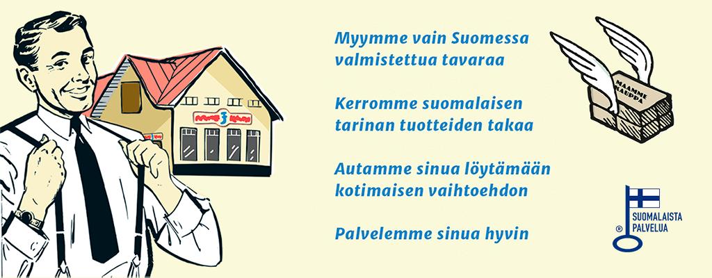 Maammekauppa - Suomessa valmistettujen tuotteiden kauppa Laitila