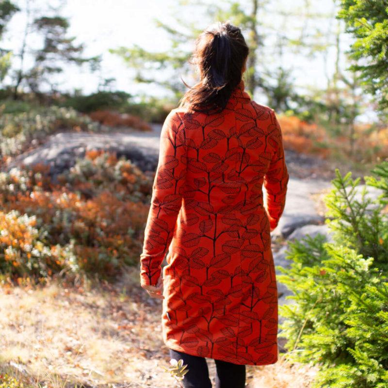 PaaPii Design Routa mekko Leppä ruoste takaa