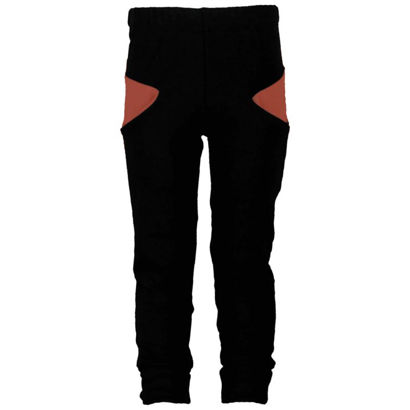 PaaPii Design Sisu lasten housut musta-ruoste