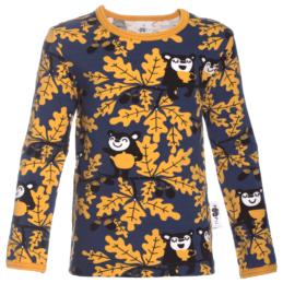 PaaPii Design Uljas lasten paita Tammi mustikka-okra