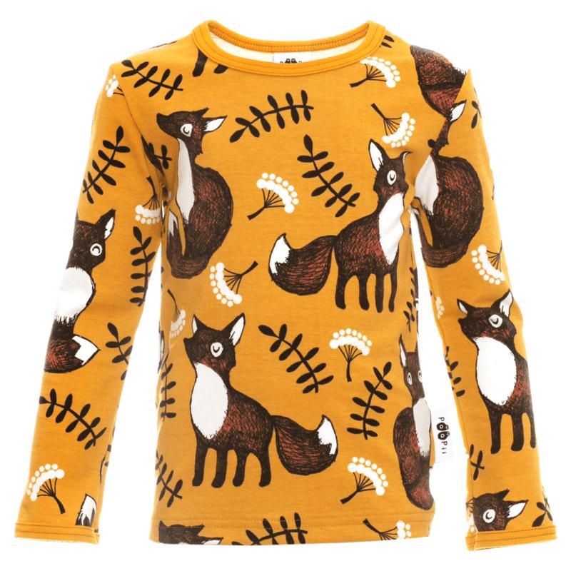 PaaPii Design Uljas paita Nuutti okra-ruoste