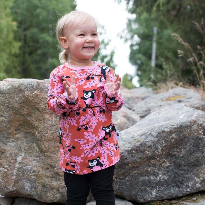 PaaPii Design Vieno tunika Tammi ruoste-vaaleanpunainen 2