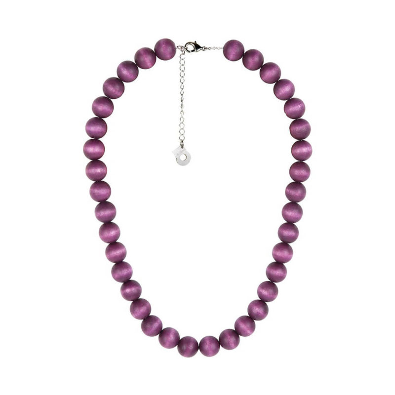 Aarikka Aito kaulakoru tumma violetti