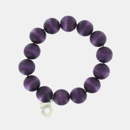 Aarikka Pohjola rannekoru tumma violetti 2