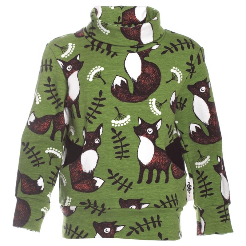 PaaPii Design Havina collegepaita Nuutti metsä-ruoste
