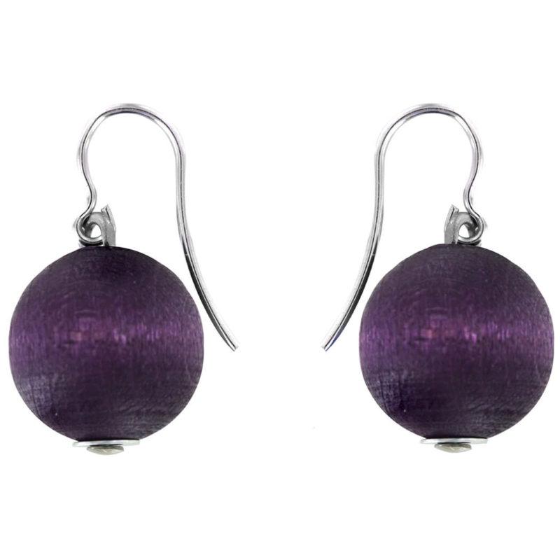 Aarikka Karpalo korvakorut tumma violetti