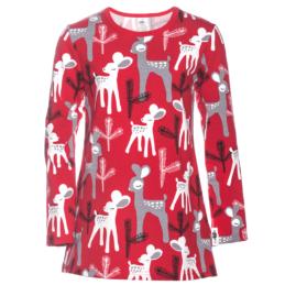 PaaPii Design Nelli tunika Bambi punainen