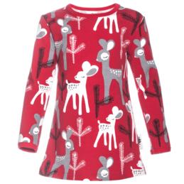 PaaPii Design Vieno tunika Bambi punainen